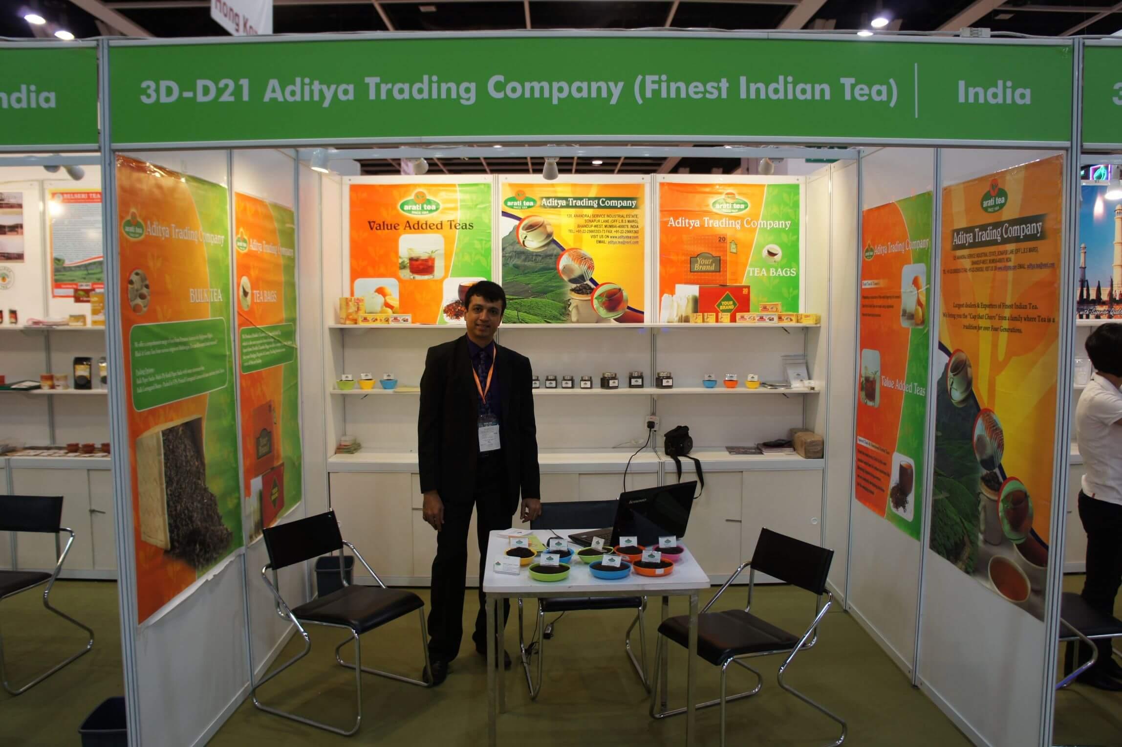 Hong Kong International Tea Fair - Hong Kong - 2011